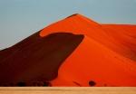 Sunset on Huge Dune, Sossusvlei Area, Namib Desert, Namibia