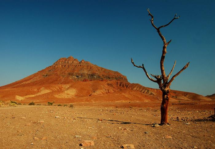 Etendeka Mountains between the Khumib and Hoarusib riverbeds, Kaokoland, Namibia