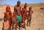 Himba Family, Kaokoveld, Northwest Namibia