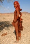 Himba Girl, Kaokoveld, Northwest Namibia