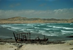Skeleton Coast Shipwreck, Near Luderitz, Namibia