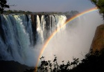 Victoria Falls and Rainbow, Zimbabwe