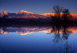 Farm Pond at sunrise near Bishop, California #1