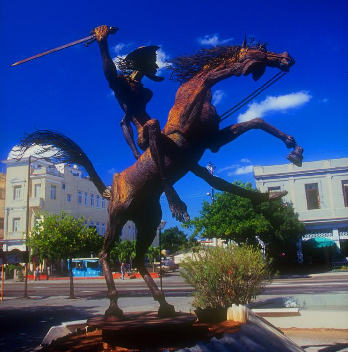 Statue of Don Quixote, Havana, Cuba