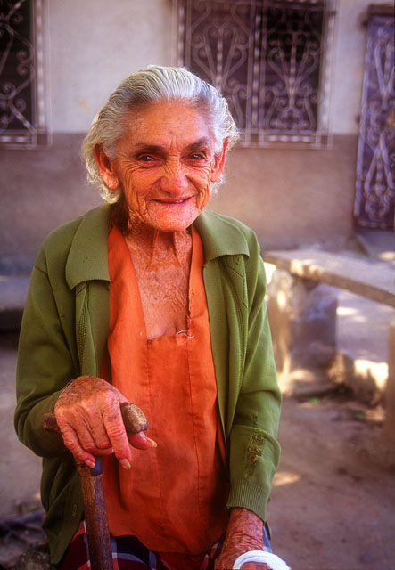 Old Woman, Camaguay, Cuba