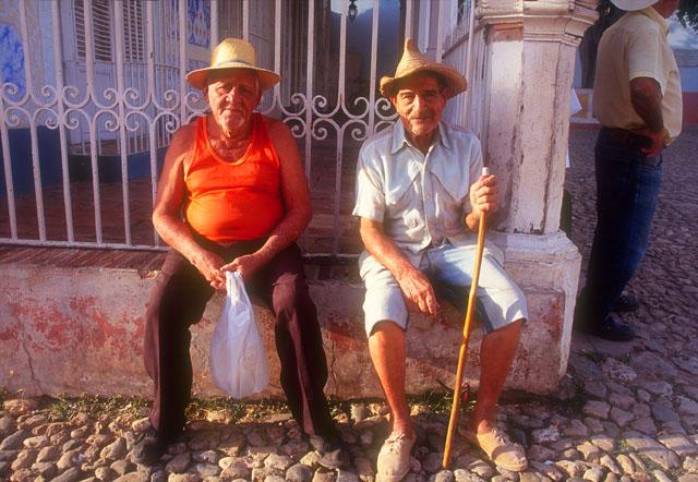 Two Old Men, Trinidad, Cuba