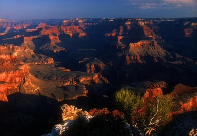 Sunrise, Grand Canyon near Yaki Point