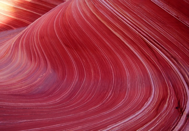 S-curve detail, The Wave, Arizona