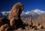 CA Alabama Hills, Gene Autry Rock