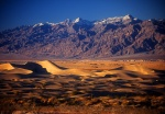 Stovepipe Wells Sand Dunes and Grapvine Mtns, Death Valley
