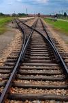 Railroad tracks, Auschwitz-Birkenau, Ploand