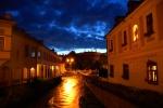 Nightfall, Eger, Hungary