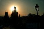 Afternoon light, Charles Bridge, Prague, Czech Republic
