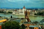 View of Budapest with Parlament and Danube River, Hungary