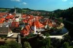 Cesky Krumlov view, Czech Republic