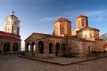 Sveti Naum Monastery on Lake Ohrid, Macedonia