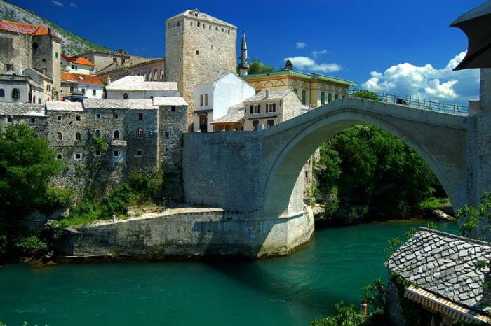 Mostar Bridge, Bosnia & Herzegovina