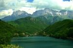 Mountains and Neretva River near Jablanica, Bosnia & Herzegovina