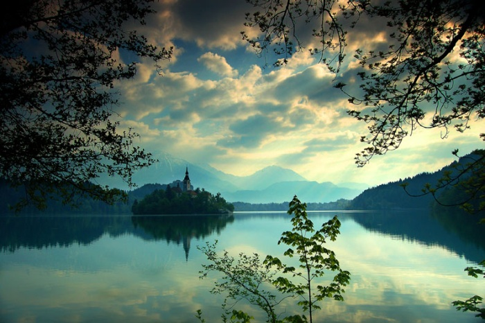 Lake Bled and Bled Island, Slovenia