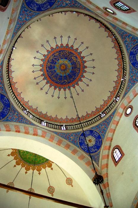 Ceiling, Gazi-Husrevbey Mosque, Sarajevo, Bosnia & Herzegovina