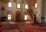 Mosque interior, Gazi-Husrevbey Mosque, Sarajevo, Bosnia & Herzegovina