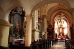 Church interior, Bratislava, Slovakia