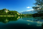 Lake Bled Castle and village, Slovenia