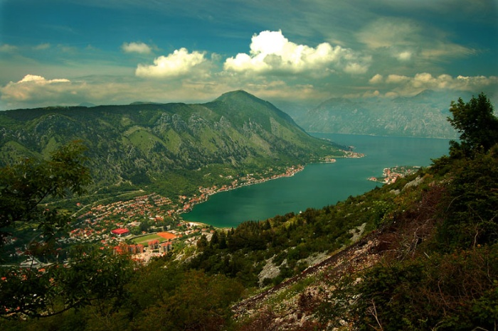 Kotor and its fjord, Montenegro