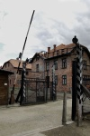 Main Gate, Auschwitz 'Arbei Macht Frei' (Work Makes You Free), Poland