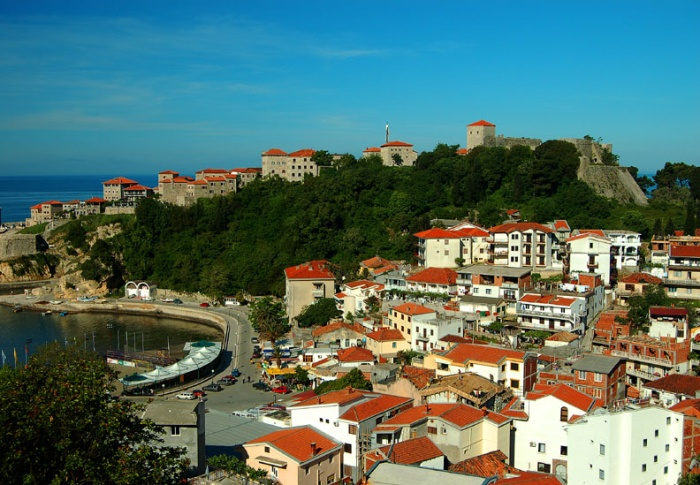 Ulcinj old town and fortress, Montenegro