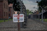 Electric fence, Auschwitz, Poland