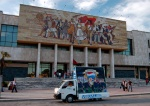 Communism meets Pepsi - National Museum of History, Tirana, Albania