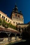 Citadel Gate and Clock Tower, Sighisoara, Romania