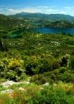 Bacinska Lakes near Ploce on the Dalmation Coast, Croatia