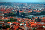 Prague skyline, Czech Republic