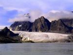 Glacier, Bockfjorden, Spitzbergen - some 700 miles from the North Pole!