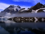 Calm morning, Samarin Glacier, Spitzbergen
