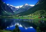 Dalavatnet Lake, Sogndalsdalen, Norway