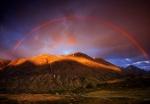 Rainbow, Leira Valley, Norway