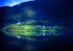 Reflection in Vangs Lake, Norway