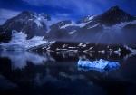 Samarin Glacier Bay, Spitzbergen