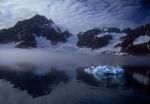 Foggy Samarin bay, Spitzbergen