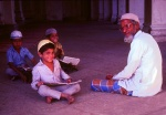 Learning the Koran Aurangabad  Maharashtra, India