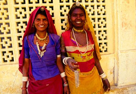 Jewelry Sellers Jaisalmer, Rajasthan India