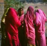 Group of Hindi women Rajasthan, India