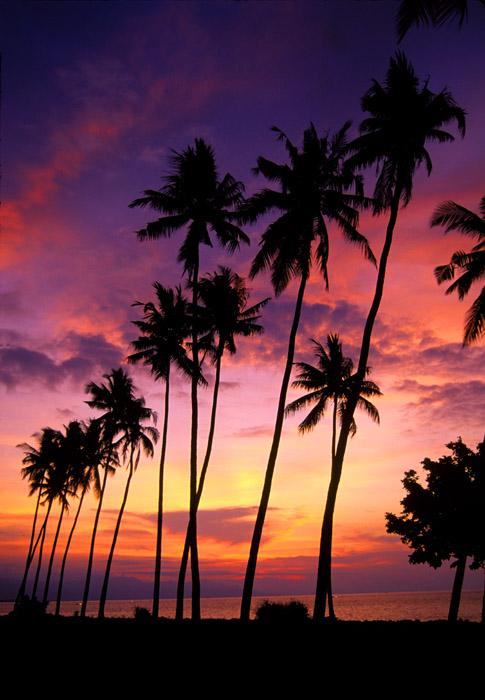 Sunset, Lovina Beach, Bali, Indonesia