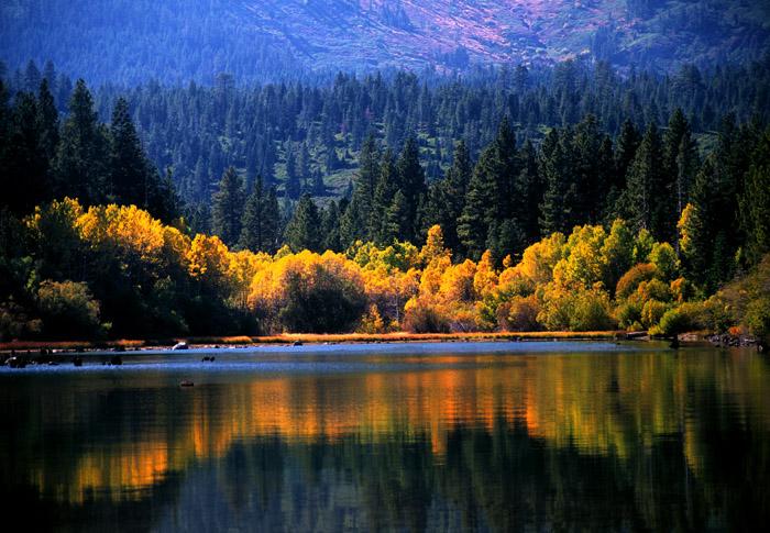 Fallen Leaf Lake, Lake Tahoe, California