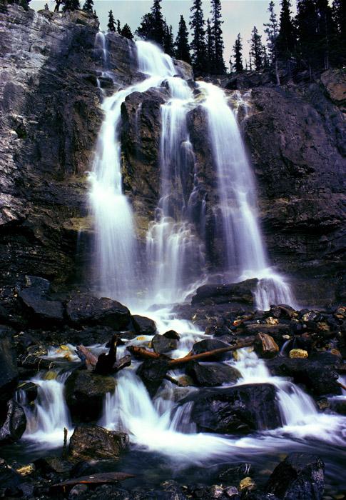 Tangle Creek Falls, Jasper NP, Canada