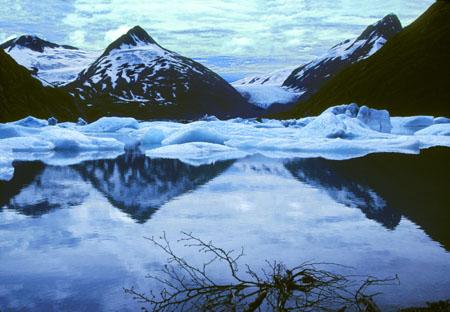 Portage Glacier & Lake Alaska