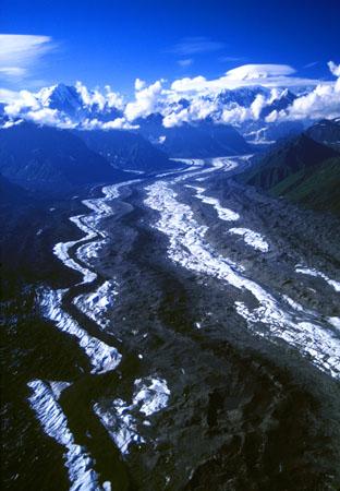 Tokositna Glacier Denali National Park Alaska